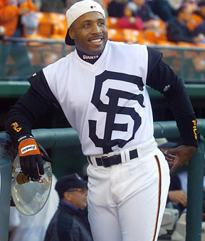 Barry Bonds Warp