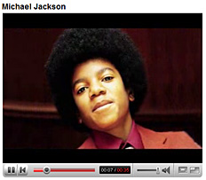 YouTube Michael Jackson Morph